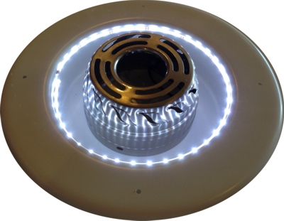 12v Rv Ceiling Fan Recess Bezel Bj S Rv And Marine Products